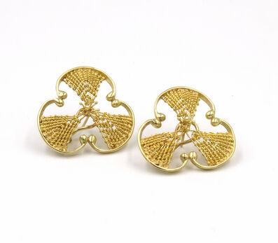 Mary Lee Hu, 'Earrings #204'
