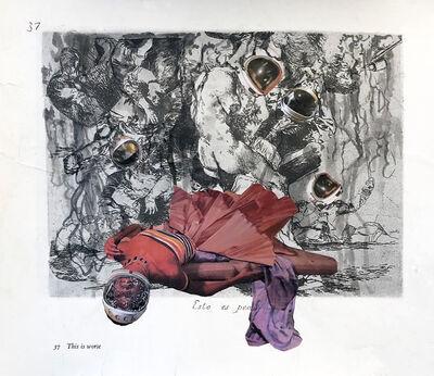 David Antonio Cruz, 'estoespeor', 2020