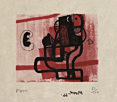 Henry Moore, 'Untitled  (Cramer, 96)', 1966