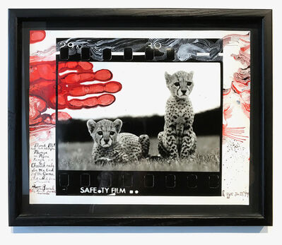 Peter Beard, 'Orphaned Cheetah Cubs, Mweiga National Park, Kenya for The End of the Game, 1968', 1999