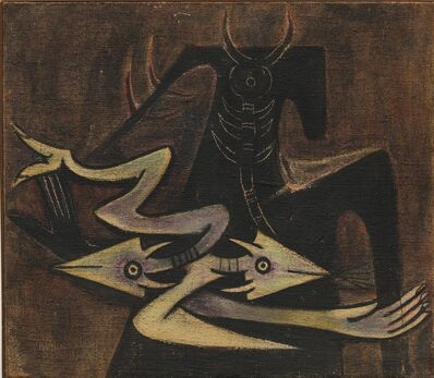 Wifredo Lam, 'The Warrior', 1947