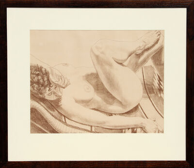 Philip Pearlstein, 'Nude on Chair', circa 1970