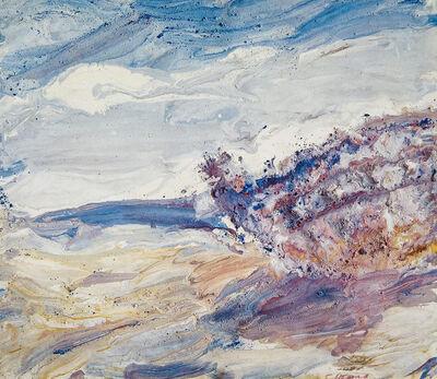 Boris Otarov, 'Breaking Waves. An Old Launch', 1988