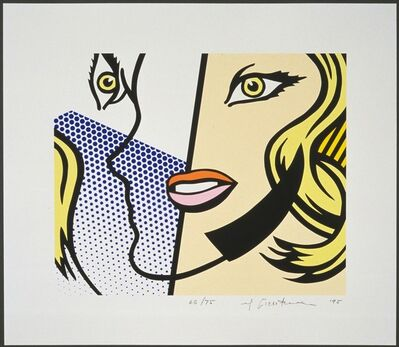 Roy Lichtenstein, 'Untitled Head', 1995
