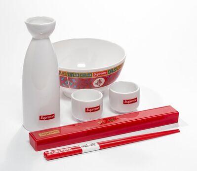 Supreme, 'Sake Set, Bowl, and Chopsticks (three works)', 2017
