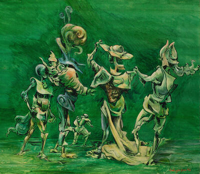 Kurt Seligmann, 'The Intruder', 1946
