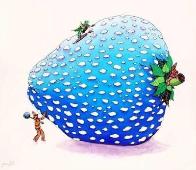 Francesco Baronti, 'Starwberryblue!!!!', 2009
