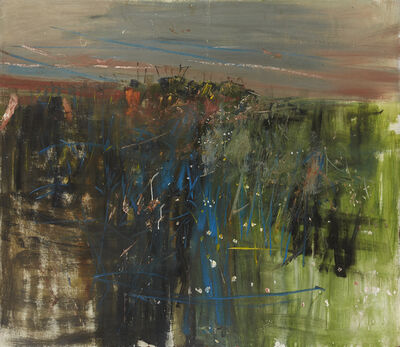 Joan Eardley, 'Fields, Catterline '