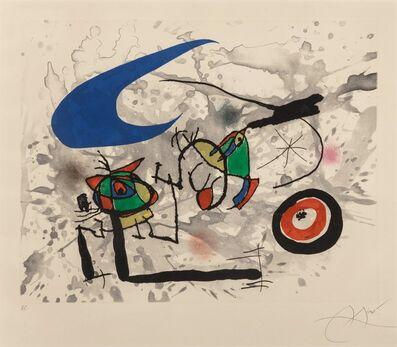Joan Miró, 'Pygmées sous la Lune', 1972