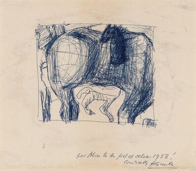 Frederick John Kiesler, 'Untitled (Bucephalus)', 1956