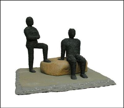 Boaz Vaadia, 'Omri & Shemaryahu (#87) ', 2006