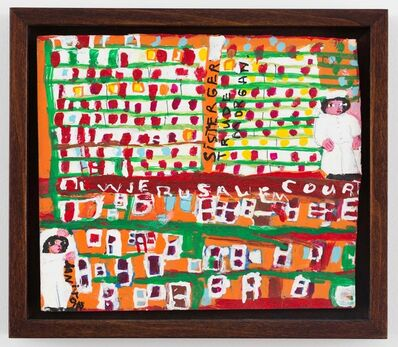 Sister Gertrude Morgan, 'New Jerusalem Court ', 1960-1970