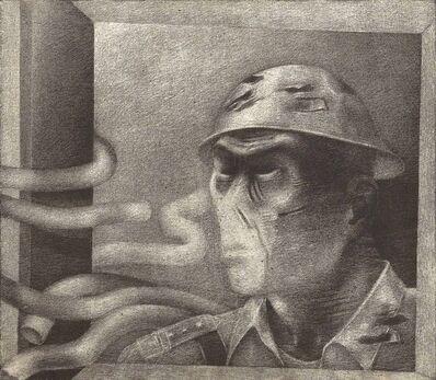 Rameshwar Broota, 'Unidentified Soldier', 1990