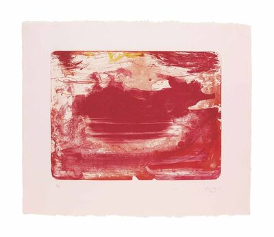 Helen Frankenthaler, 'The Red Sea', 1978-1982