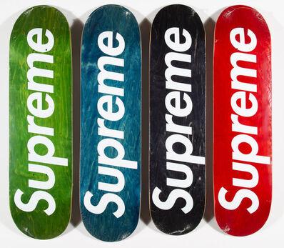 Supreme, 'Logo Decks, set of four', 2008