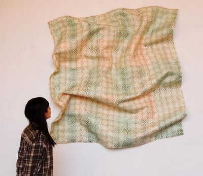 Máximo González, 'Simple Magma (Green Lots)', 2015