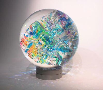 Toland Sand, 'Skyblue Sphere', 2018