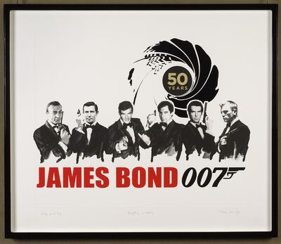 James Hart Dyke, 'Everything or Nothing – 50 Years of James Bond: Deluxe', 2012