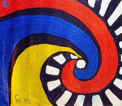 Alexander Calder, 'Alexander Calder Swirl Tapestry', 1975