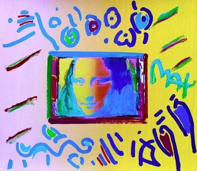 Peter Max, 'Mona Lisa', 1998