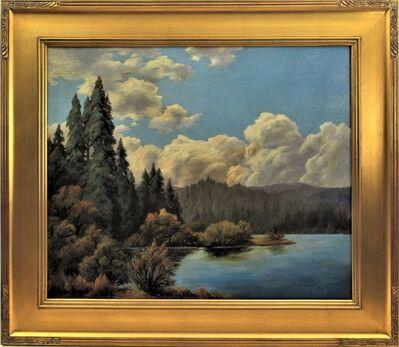 "Earl Graham Douglas, ' ""California Landscape with Lake""', ca. 1920"