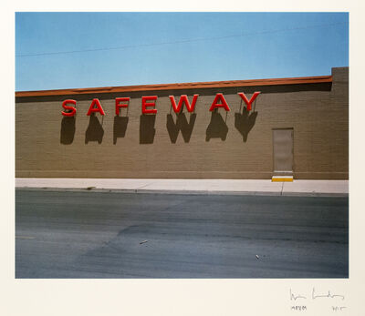 Wim Wenders, 'Safeway', 1983