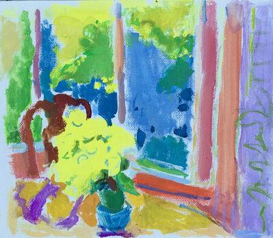 Rita Baragona, 'Early Spring Window - Yellow', 2020
