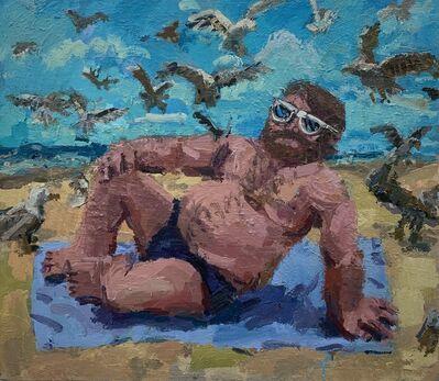 Todd Bienvenu, 'Seagull Man', 2019