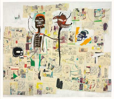 Jean-Michel Basquiat, 'Peter and the Wolf', 1985