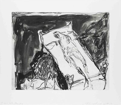 Tracey Emin, 'I Was Left Sleeping', 2017