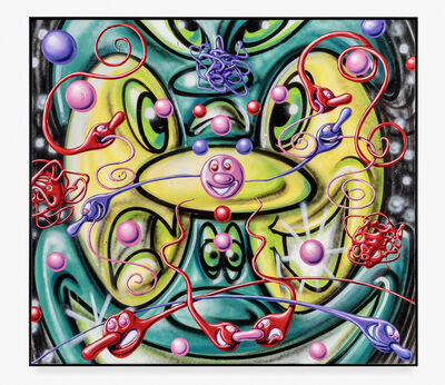 Kenny Scharf, 'Binary Noselok', 2019