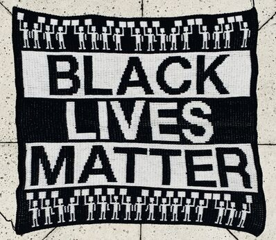 Lisa Anne Auerbach, 'Black Lives Matter', 2020