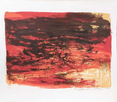 Zao Wou-Ki 趙無極, 'Untitled', 1965