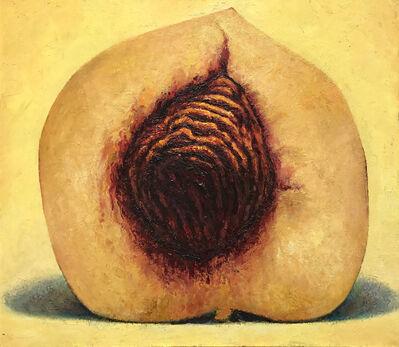 Ken Beck, 'Peach Heart', 1989