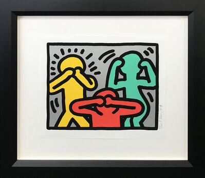 Keith Haring, 'POP SHOP III (3)', 1989