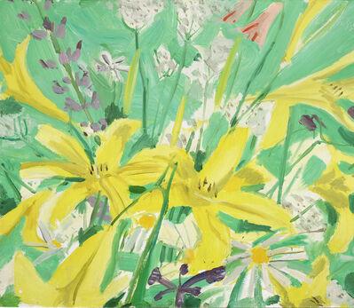 Alex Katz, 'Study for Ada with Flowers', 1980