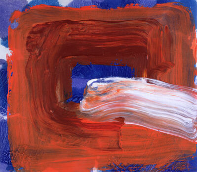 Howard Hodgkin, 'Cigarette', 2001