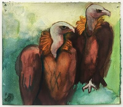 Karen Heagle, 'Untitled (two griffons)', 2016