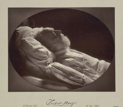Nadar, 'Victor Hugo on His Deathbed', 1885