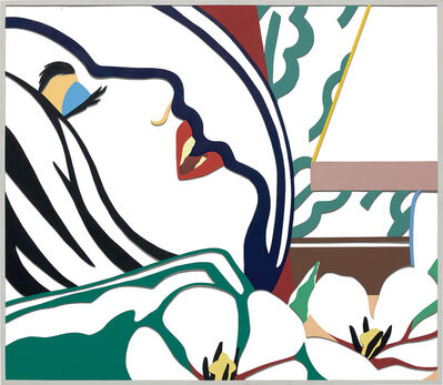 Tom Wesselmann, 'Bedroom Face with Green Wallpaper (Variation)', 1983-1985