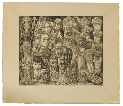 Eduard Wiiralt, 'Põrgu (Hell)', 1930