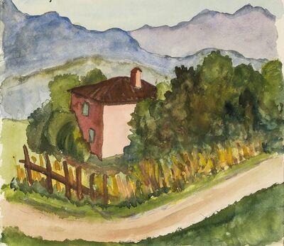 Hermann Hesse, 'House in Ticino mountain landscape', 1930