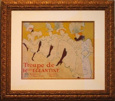 Henri de Toulouse-Lautrec, 'La Troupe de Mademoiselle Eglantine', ca. 1896