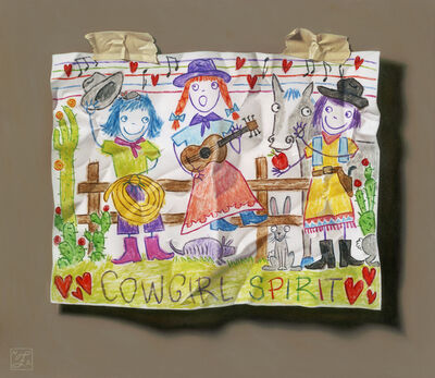 Natalie Featherston, 'Young Artist Shows Promise, Cowgirl Spirit', 2018