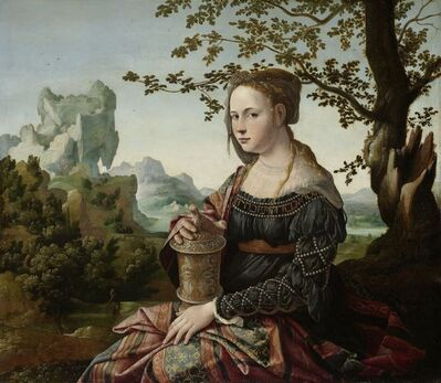 Jan van Scorel, 'Mary Magdalene', ca. 1530