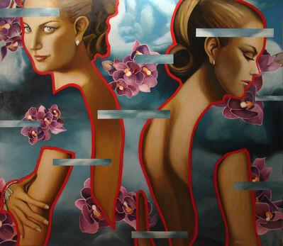 Manzur Kargar, 'Flowers', 2010