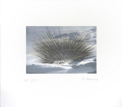 Arnulf Rainer, 'Schwarze Strahlen', 2000
