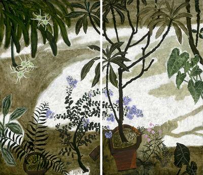 Dong Shawhwei 董小蕙, 'Crape Myrtle Flowers in Summer Courtyard ', 2018