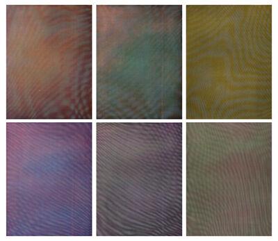 Tauba Auerbach, 'Mesh/Moire set I-VI', 2013