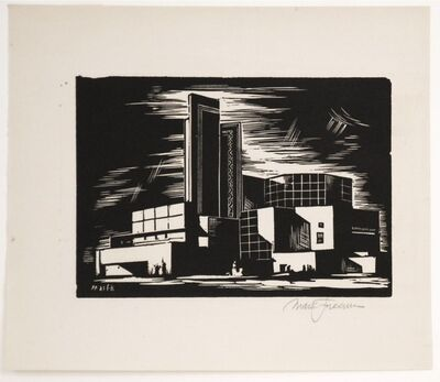 Mark Freeman, 'Chicago Worlds Fair (#3): Dairy Exhibition (Portfolio of 6)', 1933